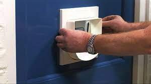 manual 4 way locking clic cat flap