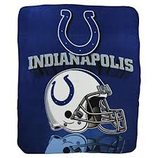 Colts Throw Blanket