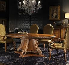 end dining room table Italian furniture