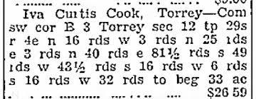 Iva Curtis Cook - Land 1938 - Newspapers.com