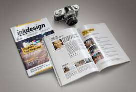 free magazine layout template inkdesign magazine template pixelo
