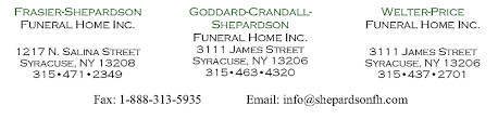 home shepardson family funeral homes