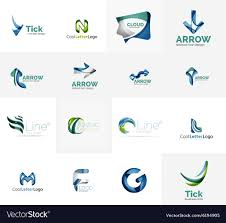It Logo Design Ideas Set Of Universal Company Logo Ideas Business Icon