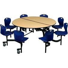 school lunch table. Round School Lunch Table Mobile Chair Cafeteria Tables At High