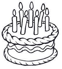 Výsledek obrázku pro dort kreslený