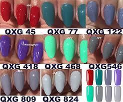 Bluesky Qxg Most Wanted New Colour Range Nail Gel Polish Uv