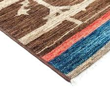 moroccan brown wool area rug 4 3 x 4 6 lillian august 4 by 6 rug 4 x 6 non skid rug pad