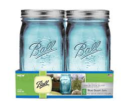 Mason Jars Amazoncom Ball Wide Mouth Elite Collection Quart Jars 4 Pack