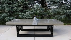 latest craze european outdoor furniture cement. Beautiful Outdoor Concrete Ping Pong/Tennis Table With Steel Base. Latest Craze European Furniture Cement N
