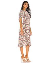 Платье Emilia В Цвете Lumina Floral - White. Размер S (также В ...
