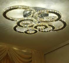 brief design led crystal chandelier modern lighting ac110v 220v re led living room lights bedroom lamp pendant pendant lighting from daisy8814