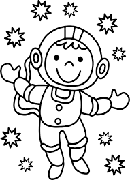 Small Picture Astronaut Good Monkey Coloring Page Wecoloringpage
