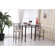 Against The Wall Dining Table 3 Piece Kitchen Dining Room Sets Youll Love Wayfair