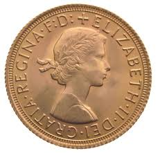 1958 Half Dollar Value Chart 1958 Gold Sovereign Elizabeth Ii Young Head