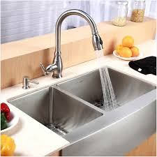 kraus 33 inch farmhouse double bowl stainless steel kitchen sink with noisedefend soundproofing a18aff27 7a6e 4bbb