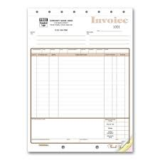 Custom Invoice Format Carbonless Invoice Forms Account Statements Custom