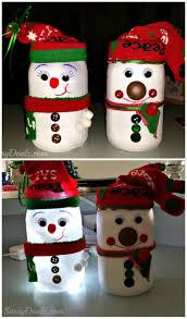 Decorated Christmas Jars Ideas 100 Captivating DIY Christmas Mason Jars Homesthetics Inspiring 34