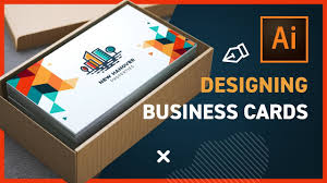 Free Design Business Cards Business Card Layout Illustrator Templates Free Template