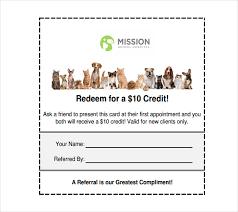 18 Referral Coupon Templates Psd Ai Indesign Free Premium