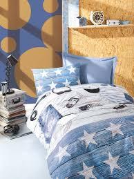 cotton box modus blue ranforce duvet cover set single bedding duvet cover sets diger karakterler 35813 22 b jpg