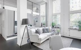 apartment design online. Small Two-bedroom Apartment With High Ceilings In White (41 Sqm) | PUFIK. Beautiful Interiors. Online Magazine Design L