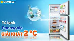 Tủ lạnh Panasonic Inverter 326L: ướp lạnh 2°C, ngăn đá kháng khuẩn  (BL351GKVN) • Điện máy XANH - YouTube