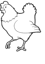 Cow And Chicken Draw Coloring Pages Print Coloring