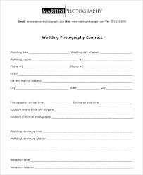 Photography Contract Example 11 Free Word Pdf Documents Download