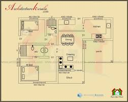 good below 1000 square feet house plan and elevation architecture kerala kerala model house plans