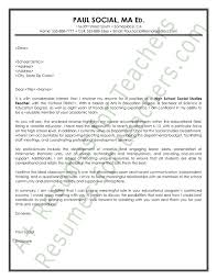 sample cover letters teachers resume examples templates spanish teacher cover letter no
