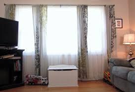 Three Window Panel Curtains Three Window Panel Curtains windows drapes for  wide windows ideas double wide