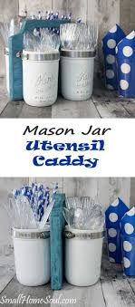 Simple Ways To Decorate With Blue-Tinted Mason Jars | thoribuzz.info