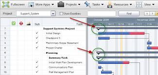 Gantt Chart Wikipedia Dreamfactory Wiki Collapse And Un Collapse Summary Tasks