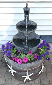 diy water fountain improving a bought one with a few additions