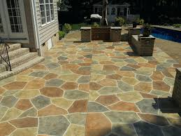 outdoor concrete stain acid stained concrete patio designs