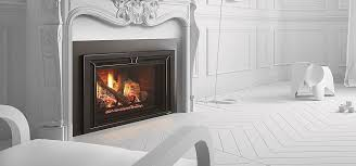 gas fireplace insert remote controlled