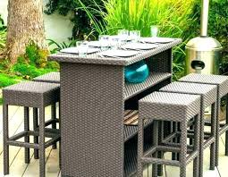bistro table sets outdoor high top patio table high top patio table set tall bistro table