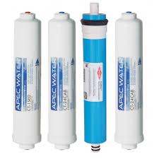 apec complete filter set for ultimate ro ctop ro ctop c countertop reverse osmosis systems stages 1 4