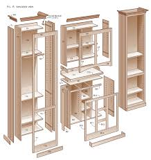 diy kitchen pantry cabinet plans roselawnlutheran