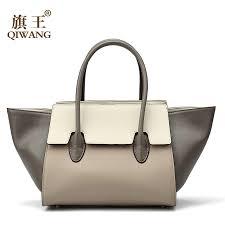 <b>Qiwang</b> Women Classic <b>Luxury Brand</b> Real <b>Leather</b> Women Bags ...
