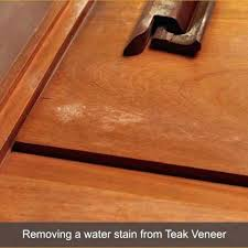 remove white rings from wood furniture easy tips removing water damage its works to