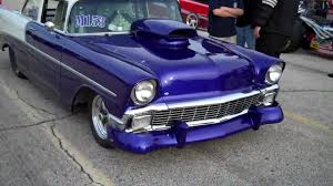 1956 Chevy 210 Sedan Drag Car - YouTube