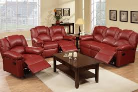 Reclining Living Room Set Bonded Leather 3 Pc Motion Sofa Love Seat Recliner Living Room