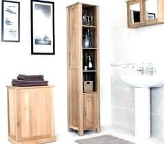 narrow bathroom cabinet skinny vanity storage tall