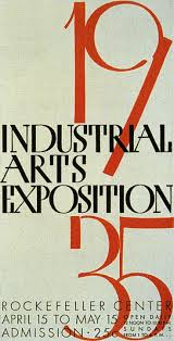 Mid-Century Modern Graphic Design Fred Troller Industrial Arts Expo 1935 -  Paul Rand The Black Keys.