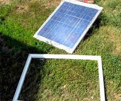 Окна из солнечных батареях
