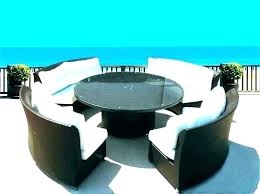 square patio table for 8 round outdoor dining table for 8 round patio dining table for