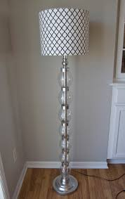 Glam On A Budget Diy Stacked Glass Ball Bauble Lamp Better