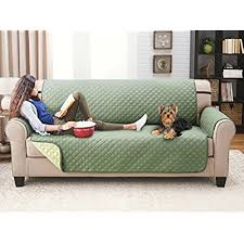 sofa pet covers. Deluxe Reversible Sofa Furniture Protector, Olive / Sage Pet Covers G
