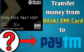 transfer money from bajaj emi card